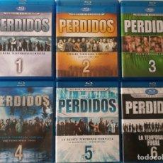 Series de TV: SERIE PERDIDOS (LOST) COMPLETA BLU RAY. Lote 182636816
