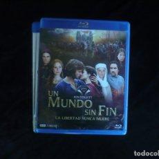 Series de TV: UN MUNDO SIN FIN LA LIBERTAD NUNCA MUERE - CONTIENE 3 DISCOS - BLURAY COMO NUEVOS. Lote 182941987