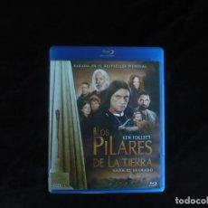 Series de TV: LOS PILARES DE LA TIERRA NADA ES SAGRADO - CONTIENE 3 DISCOS - BLURAY COMO NUEVOS. Lote 182942083