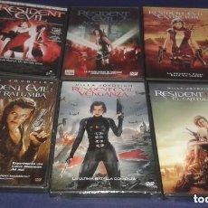 Series de TV: RESIDENT EVIL 1 + 2 + 3 + 4 + 5 + 6 *** EDIC. ESPAÑOLA - SAGA COMPLETA DVD. Lote 184028702