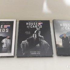 Series de TV: HOUSE OF CARDS (LAS 3 PRIMERAS TEMPORADAS) EN CASTELLANO. Lote 186465210