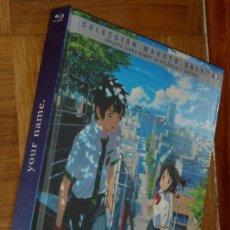 Series de TV: BLU RAY YOUR NAME 2 BLU RAY MUY BUEN ESTADO ANIME MAKOTO SHINKAI. Lote 187078816