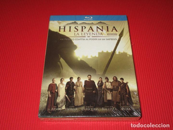 HISPANIA ( LA LEYENDA ) - BLU-RAY - DIVISA - TEMPORADA 1 - PRECINTADA - ANA DE ARMAS ... (Series TV en Blu -Ray )