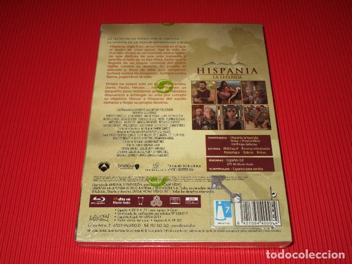 Series de TV: HISPANIA ( LA LEYENDA ) - BLU-RAY - DIVISA - TEMPORADA 1 - PRECINTADA - ANA DE ARMAS ... - Foto 2 - 189368536