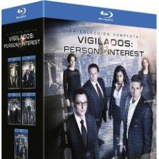 Series de TV: BLU-RAY PACK VIGILADOS: PERSON OF INTEREST (SERIE COMPLETA) 5 TEMPORADAS. Lote 209870295