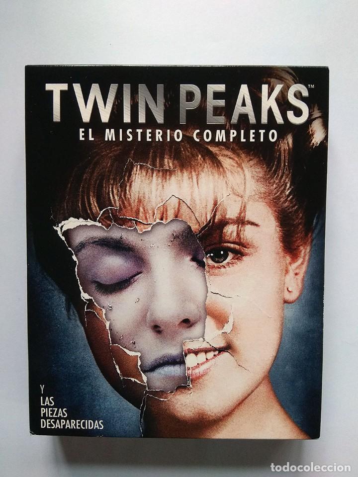 TWIN PEAKS. EL MISTERIO COMPLETO Y LAS PIEZAS DESAPARECIDAS (BLU-RAY) PRECUELA FUEGO CAMINA CONMIGO (Series TV en Blu -Ray )