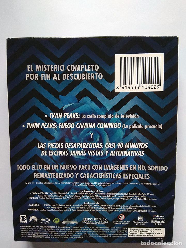 Series de TV: Twin Peaks. El misterio completo y las piezas desaparecidas (blu-ray) Precuela Fuego camina conmigo - Foto 2 - 191595978