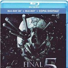 Series de TV: DESTINO FINAL DESTINATION 5 - 3D +2D - 2 DISCOS VERSIÓN ITALIANA AUDIO EN CASTELLANO Y 5 IDIOMAS MÁS. Lote 192446533