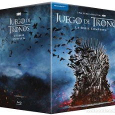 Series de TV: JUEGO DE TRONOS [TEMPORADAS 1-8, BLU-RAY DISC BLURAY] /// LA SERIE COMPLETA /// HBO /// NUEVO PACK. Lote 219232846