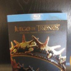 Series de TV: JUEGO DE TRONOS. SEGUNDA TEMPORADA COMPLETA. 5 DISCOS CON MUCHOS EXTRAS. BLU-RAY DISC.. Lote 202388438