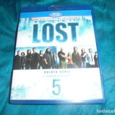 Series de TV: LOST (PERDIDOS ). QUINTA SERIE. IL VIAGGIO DI RETORNO. BLU-RAY DISC. 5 DVD´S. EDIC. ITALIANA. IMPEC. Lote 203973366