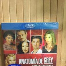 Series de TV: ANATOMÍA DE GREY CUARTA TEMPORADA AMPLIADA [ BLURAY ] - PRECINTADO -. Lote 204456228