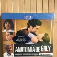 Series de TV: ANATOMÍA DE GREY LA QUINTA TEMPORADA COMPLETA [ BLURAY ] - PRECINTADO -. Lote 204456790