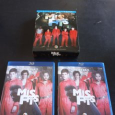 Series de TV: BLU-RAY. MISFITS. PRIMERA TEMPORADA.. Lote 205165996