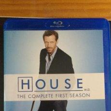 Series de TV: HOUSE - (SERIE EN BD) TEMPORADA 1 - VARIOS BLU RAY - VARIOS IDIOMAS, INCLUYE ESPAÑOL - SIN USO. Lote 207915833