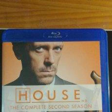 Series de TV: HOUSE - (SERIE EN BD) TEMPORADA 2 - VARIOS BLU RAY - VARIOS IDIOMAS, INCLUYE ESPAÑOL - SIN USO. Lote 207915938