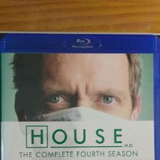 Series de TV: HOUSE - (SERIE EN BD) TEMPORADA 4 - VARIOS BLU RAY - VARIOS IDIOMAS, INCLUYE ESPAÑOL - SIN USO. Lote 207916050
