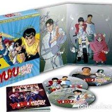 Series de TV: YU YU HAKUSHO BOX 4 - LA SAGA DE LA CINTA NEGRA - EP. 67 A 94 (BLU-RAY). Lote 210294132