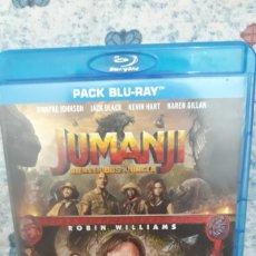 Series de TV: PACK JUMANJI (2 BLU RAY). Lote 210693091