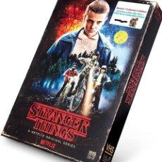 Series de TV: STRANGER THINGS (SEASON 1 DVD + BLU RAY) EDICION EXCLUSIVA IMITANDO CAJA VHS - NUEVO Y PRECINTADO. Lote 215831065