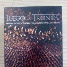 Series de TV: JUEGO DE TRONOS - TEMPORADAS 1-2-3-4 - 20 BLU-RAY. Lote 218275906