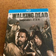 Series de TV: THE WALKING DEAD TEMPORADAS 1 2 3 4 BLU RAY FUNDA. Lote 218363236