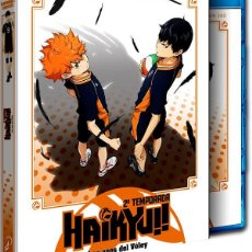 Series de TV: HAIKYU!! LOS ASES DEL VOLEY - TEMPORADA 2 COMPLETA - EPISODIOS 1 A 25 (BLU-RAY). Lote 218472661