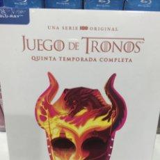 Series de TV: JUEGO DE TRONOS ( QUINTA TEMPORADA COMPLETA) BLURAY - PRECINTADO -. Lote 218525226