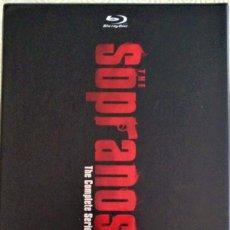 Series de TV: LOS SOPRANO SERIE COMPLETA (28 DISCOS BLURAY). Lote 218736506