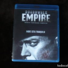 Series de TV: BOARDWALK EMPIRE QUINTA TEMPORADA COMPLETA EN TRES DISCOS - BLURAY COMO NUEVOS. Lote 219221742