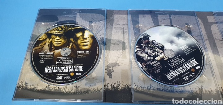Series de TV: SERIE EN BLU-RAY 10 CAPITULOS BAND OF BROTHERS - HERMANOS DE SANGRE - Foto 5 - 219984425