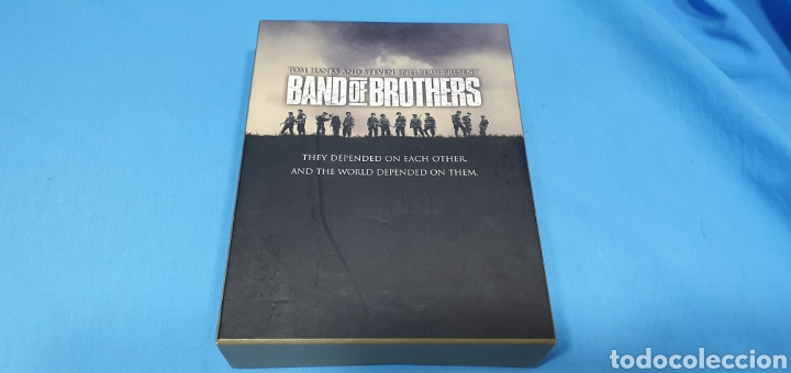 SERIE EN BLU-RAY 10 CAPITULOS BAND OF BROTHERS - HERMANOS DE SANGRE (Series TV en Blu -Ray )
