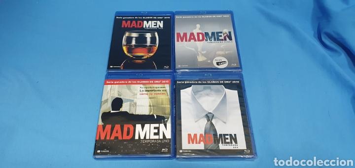 Series de TV: SERIE EN BLU-RAY - MAD MEN , TEMPORADAS 1,2,3 y 5 - Foto 2 - 219986458
