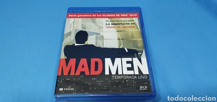 SERIE EN BLU-RAY - MAD MEN , TEMPORADAS 1,2,3 Y 5 (Series TV en Blu -Ray )