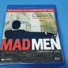 Series de TV: SERIE EN BLU-RAY - MAD MEN , TEMPORADAS 1,2,3 Y 5. Lote 219986458