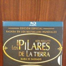 Series de TV: ESTUCHE 6 DISCOS BLU-RAY LOS PILARES DE LA TIERRA / UN MUNDO SIN FIN EDICIÓN ESPECIAL - KEN FOLLETT. Lote 220927312