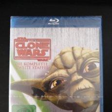 Series de TV: STAR WARS CLONE WARS - SEGUNDA TEMPORADA COMPLETA - BLU-RAY. Lote 222830056