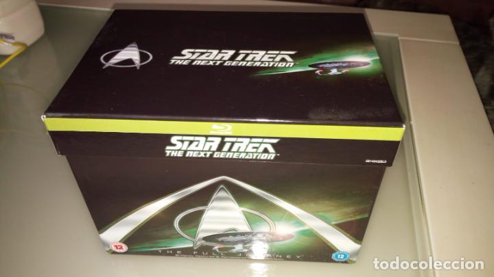 STAR TREK NUEVA GENERACION NEXT GENERATION COMPLETA LAS 7 TEMPORADAS MAS EXTRAS BLUE RAY EN ESPAÑOL (Series TV en Blu -Ray )