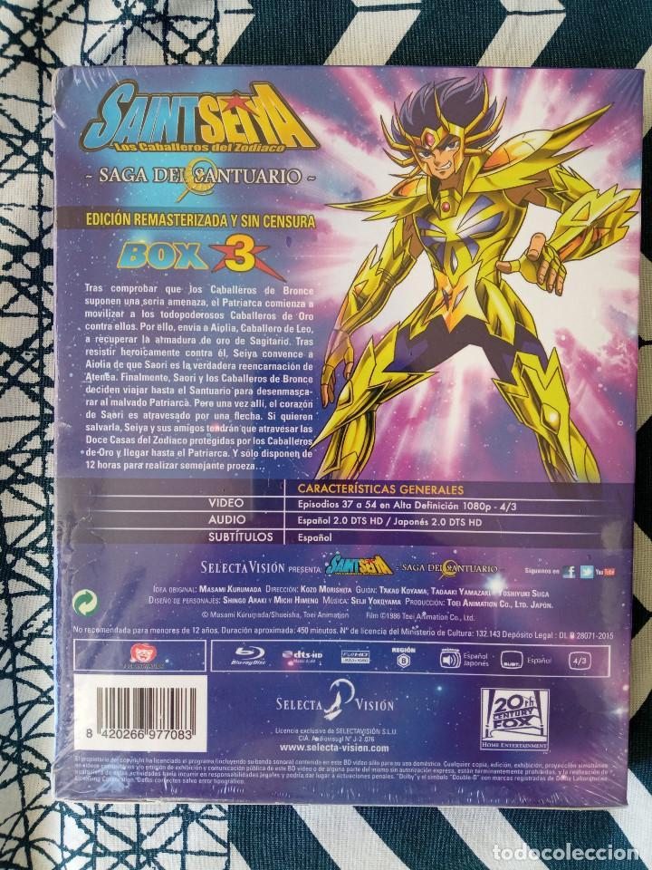 Series de TV: Saint Seiya Los Caballeros del Zodiaco - Box 3 - Nuevo - BLU-RAY - Foto 2 - 234783095