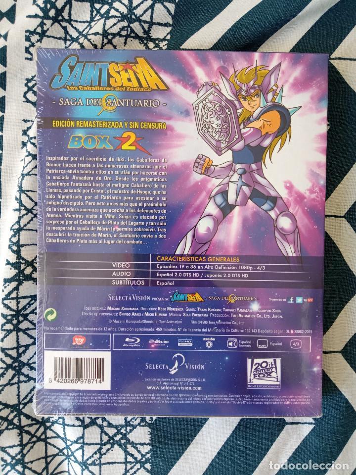 Series de TV: Saint Seiya Los Caballeros del Zodiaco - Box 2 - Nuevo - BLU-RAY - Foto 2 - 234783210