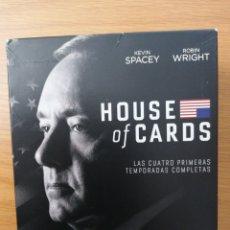 Series de TV: HOUSE OF CARDS. CUATRO PRIMERAS TEMPORADAS.. Lote 235534415