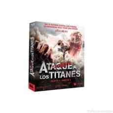 Series de TV: ATAQUE A LOS TITANES, PARTE 1 Y 2 BLU-RAY. Lote 236141280