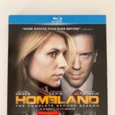 Series de TV: HOMELAND, SEGUNDA TEMPORADA, BLU RAY (AUDIO SOLO EN INGLÉS). Lote 238120950