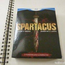 Series de TV: SPARTACUS SANGRE Y ARENA - DIOSES DE LA ARENA - BLURAY - N 2. Lote 238753370