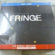 Series de TV: FRINGE -INTEGRAL DE LA SERIE - LAS 5 TEMPORADAS + LIBRO - BLURAY - PRECINTADO- EN INGLES Y FRANCES-N. Lote 239578545