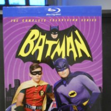 Series de TV: BATMAN. THE COMPLETE TELEVISION SERIES. BLURAY. CAJA CON LAS 3 TEMPORADAS. 13 BLURAYS. IDIOMAS: INGL. Lote 240971660