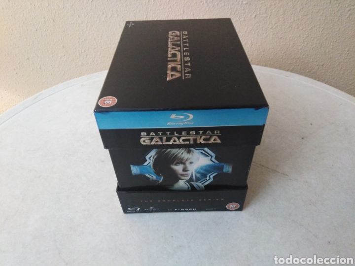 Series de TV: Battlestar Galactica, the complete series, Blu-Ray - Foto 2 - 246591995