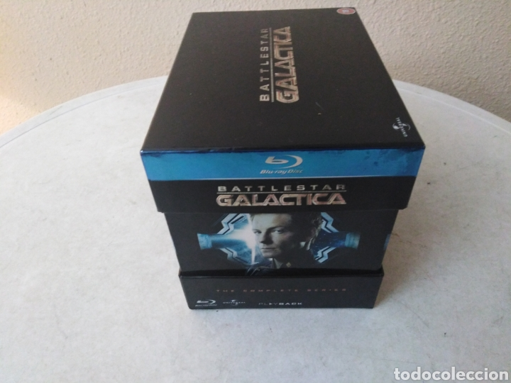 Series de TV: Battlestar Galactica, the complete series, Blu-Ray - Foto 4 - 246591995