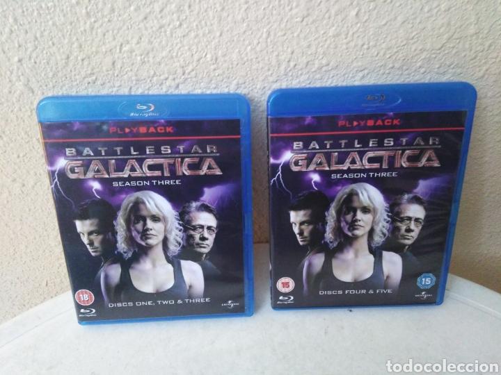Series de TV: Battlestar Galactica, the complete series, Blu-Ray - Foto 12 - 246591995