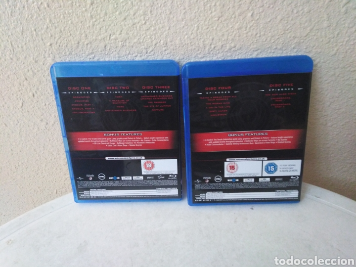 Series de TV: Battlestar Galactica, the complete series, Blu-Ray - Foto 13 - 246591995